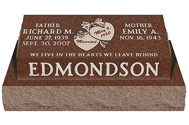 Summit_Memorials_Pillow_Headstone_edmondson
