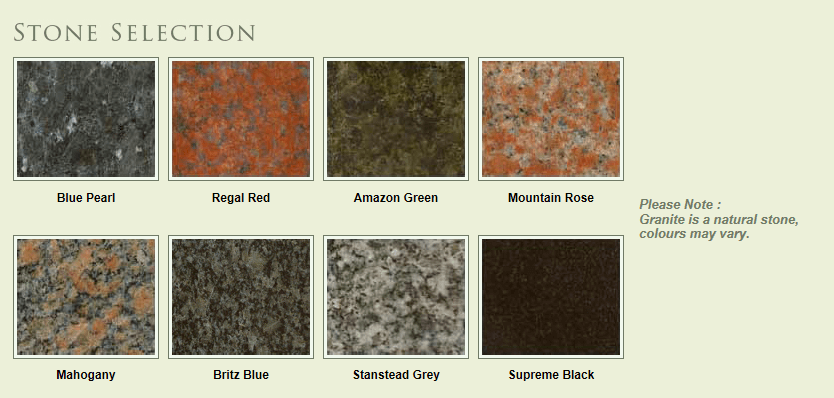stone-selection
