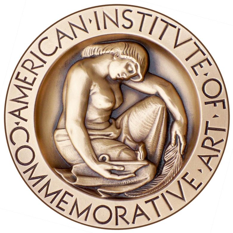 AICA bronze medallion