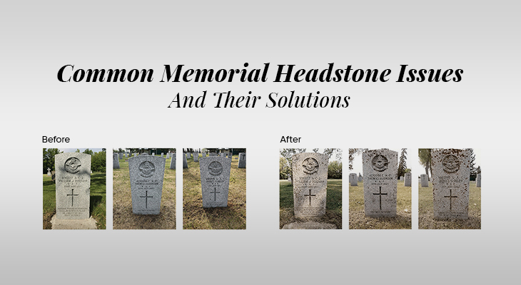 Common Memorial Headstone Issues And Their Solutions